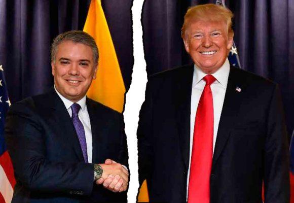 La rabia de Trump tiene un nuevo foco: Colombia y Duque
