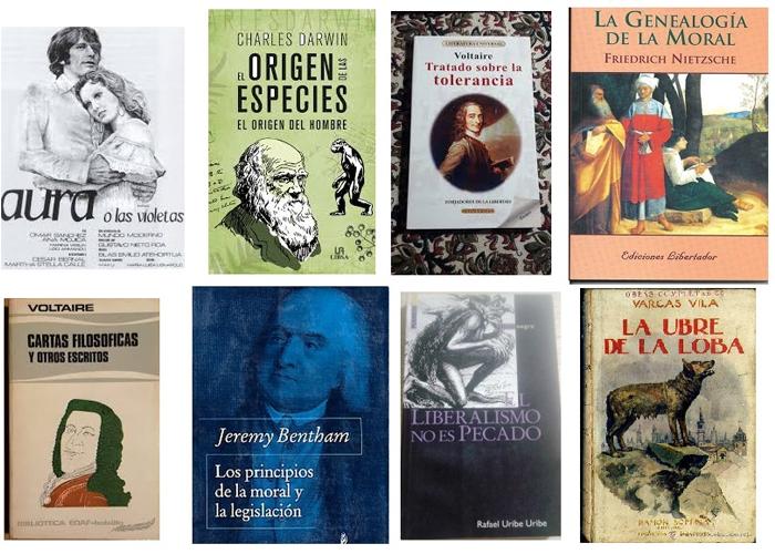 Los libros que se han prohibido en Colombia
