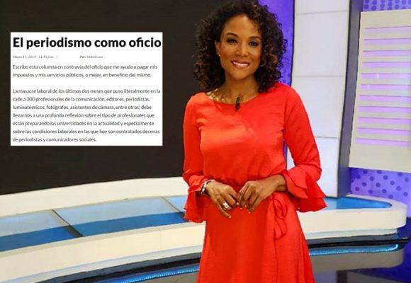 Las equivocadas afirmaciones de Mabel Lara sobre el periodismo