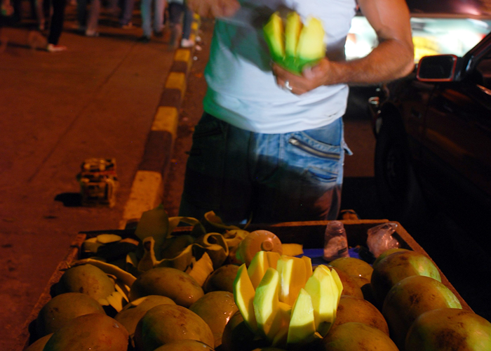 El admirable vendedor de mangos