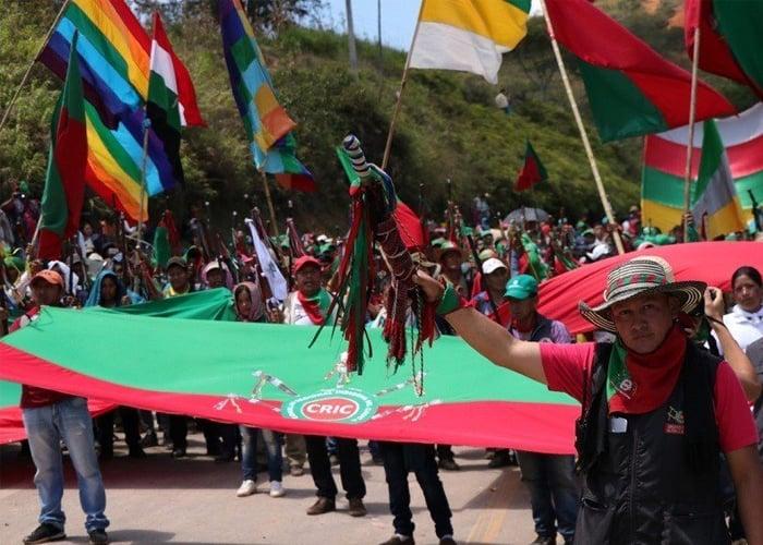 ¿Minga indígena en el Cauca para detener el coronavirus?