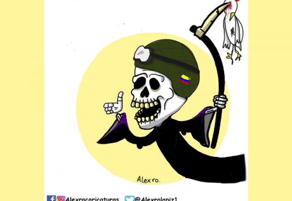 Caricatura: ¿Los héroes en Colombia sí existen?