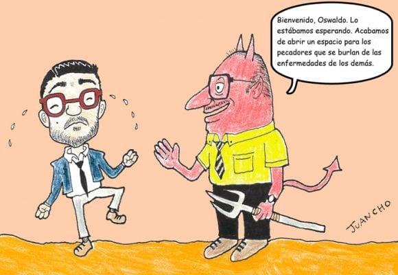 Caricatura: Si Oswaldo Ortiz recibiera su merecido…