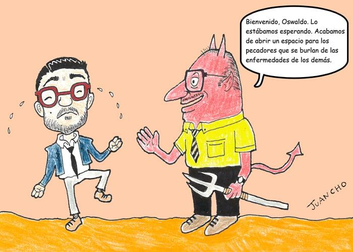 Caricatura: Si Oswaldo Ortiz recibiera su merecido...