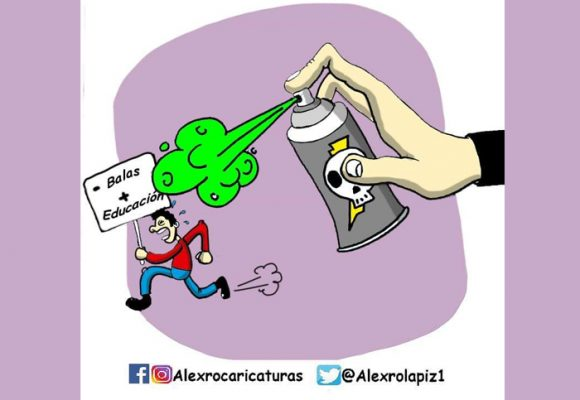 Caricatura: ¡Dejen la protesta en paz!