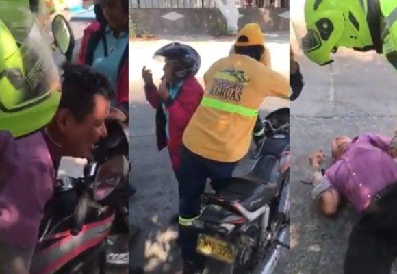 """""""No me quiten la moto, con eso le doy de comer a mis hijos"""""""