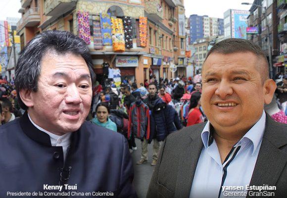 La avanzada china de Kenny Tsui contra los comerciantes de San Victorino