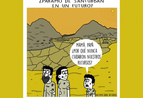 Caricatura: ¡Santurbán nos necesita!