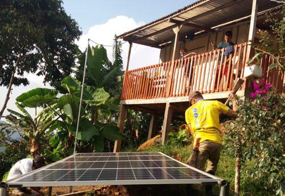Campesinos tulueños, pioneros en energía solar