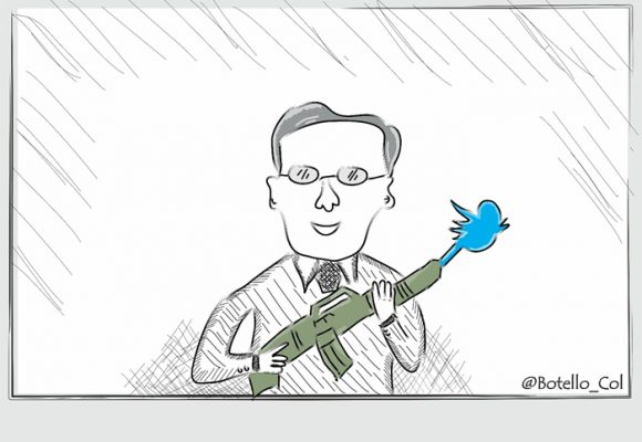 Caricatura: El destructor