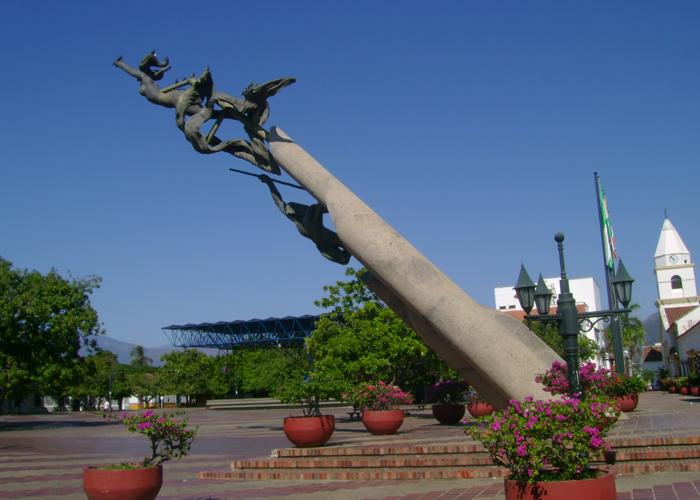 La venerable Plaza Alfonso López de Valledupar