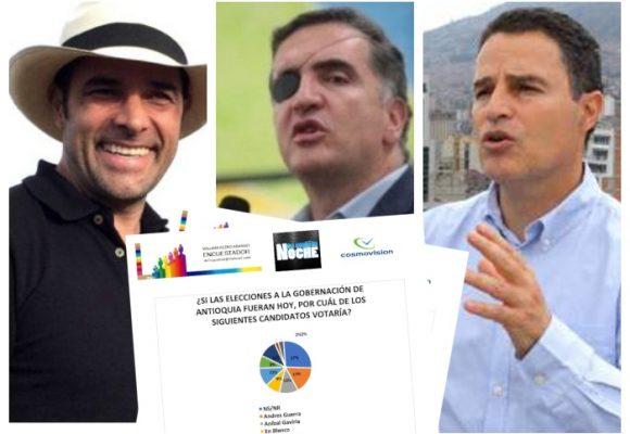 Se calienta la carrera por la Gobernación de Antioquia