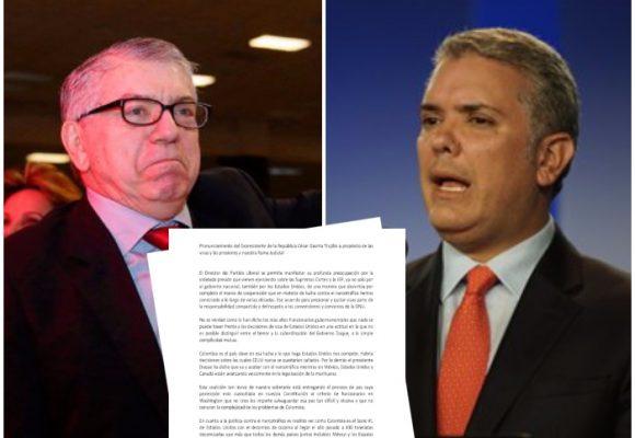 Defendemos los logros de Colombia y Duque, pero no es posible si él no se defiende: César Gaviria