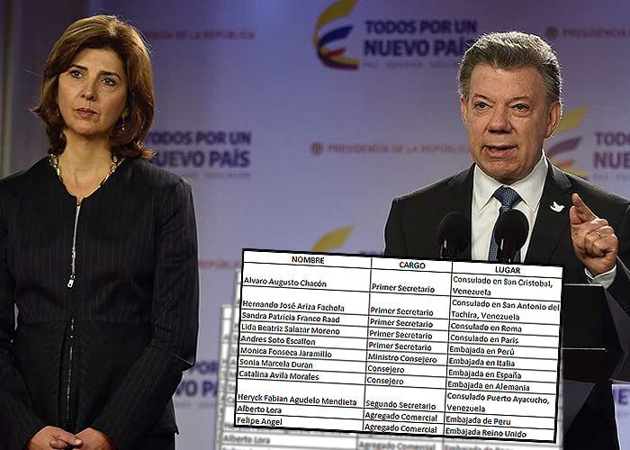 De regreso al país los premiados de Juan Manuel Santos en el exterior