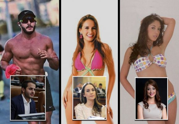 Top 5 de los congresistas más sexys de Colombia