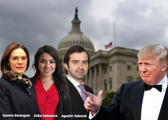 Los 13 colombianos que tienen que lidiar con el gobierno Trump