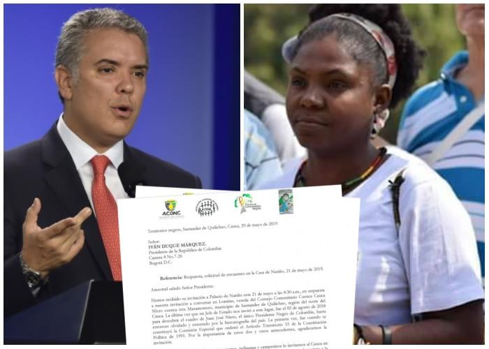 Los pueblos negros del norte del Cauca siguen esperando al presidente Iván Duque