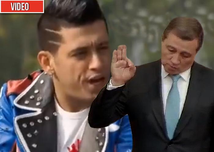 La cachetada de Germán es el man a Ernesto Macías