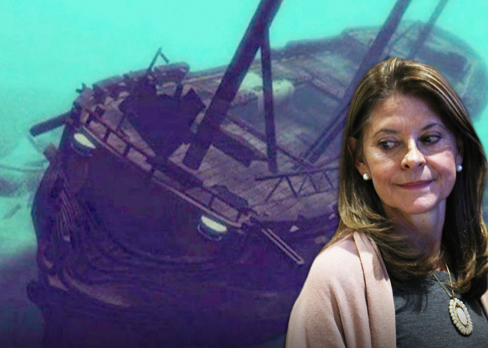 Dra. Marta Lucía, no les entregue el Galeón San José a los españoles