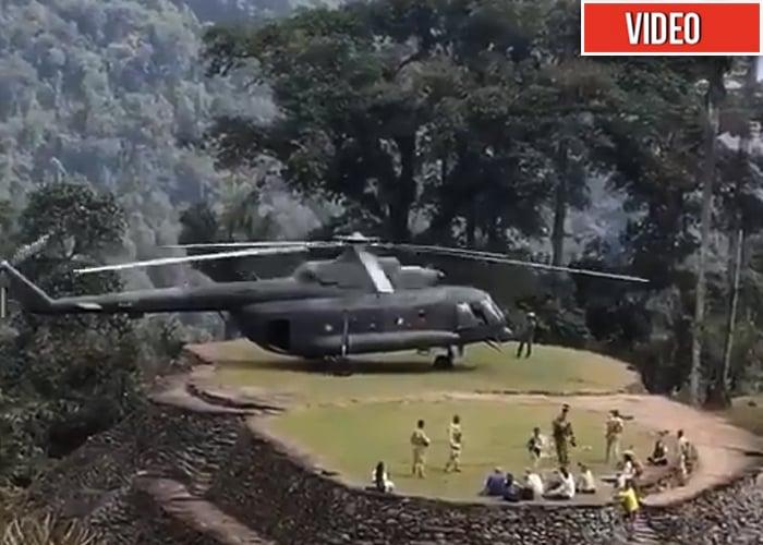[VIDEO] Militares habrían utilizado helicóptero del ejército para paseo familiar a Ciudad Perdida