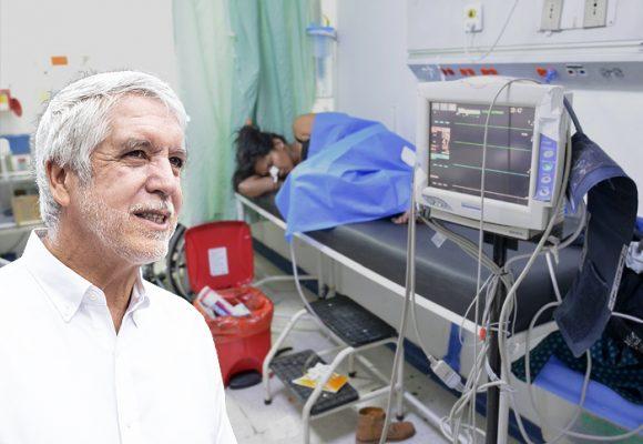 La dramática situación de los hospitales de Bogotá