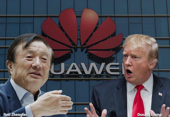 El emporio de Huawei,  amenazado por Trump