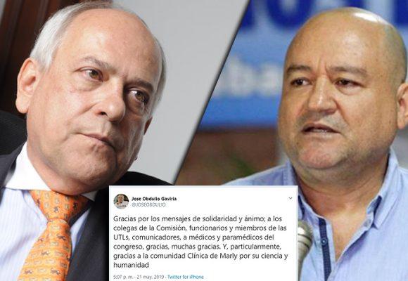 José Obdulio no le agradeció a Carlos Antonio Lozada