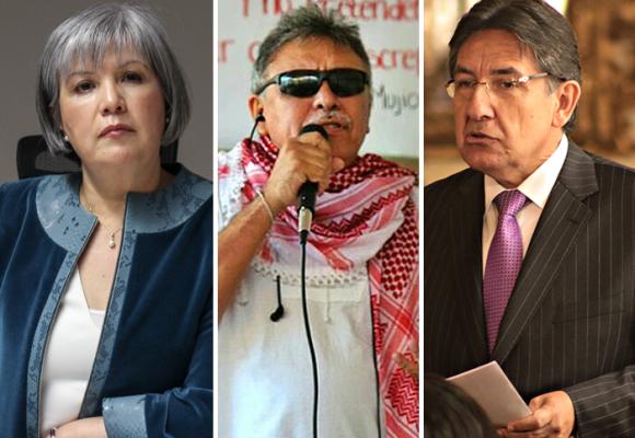 La JEP, el ciego y el fiscal: un choque de opiniones que polariza al país