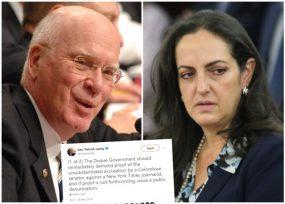 Los señalamientos de Cabal contra periodista del NY Times escalaron
