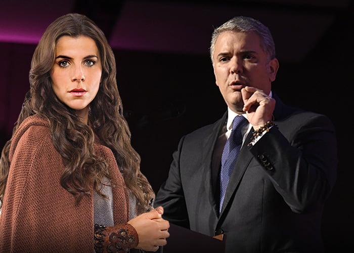 María Fernanda Yepes, la exnovia de Duque que triunfa en tv