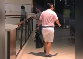 El exfiscal Martínez de shopping en Miami