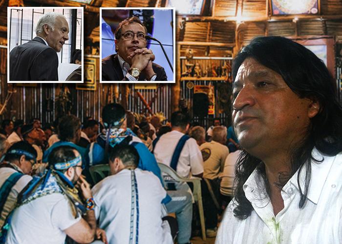 El gran chamán del yagé en Bogotá resultó violador
