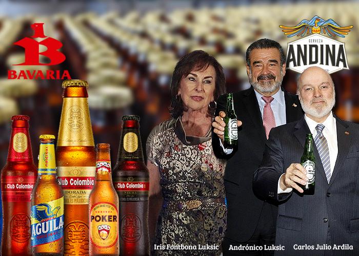 La llave chileno-colombiana de Andina tiene corriendo a los dueños de Bavaria