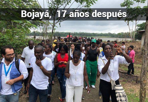 Dolor, memoria y muchos pendientes en la gente de Bojayá