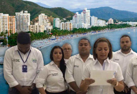 Secretarios de Alcaldía de Santa Marta, en huelga de hambre