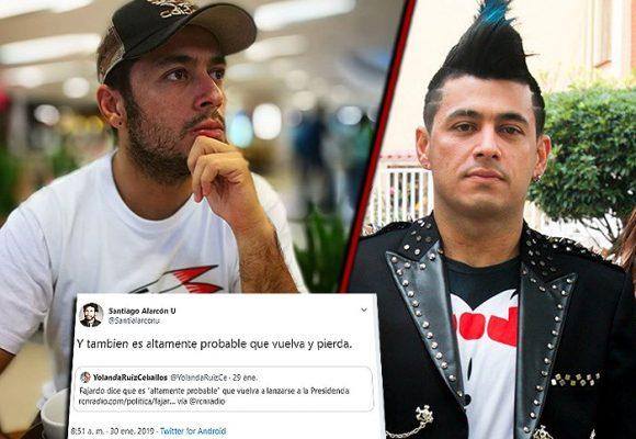 Santiago Alarcón, un tuitero sin pelos en la lengua