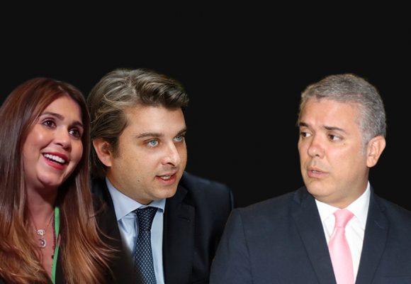 Primera cena en Palacio de Gabriel Gilinsky y María López
