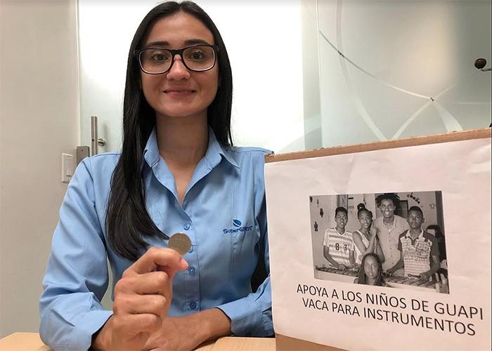 Doscientos pesos pueden cambiar vidas, como en Guapi