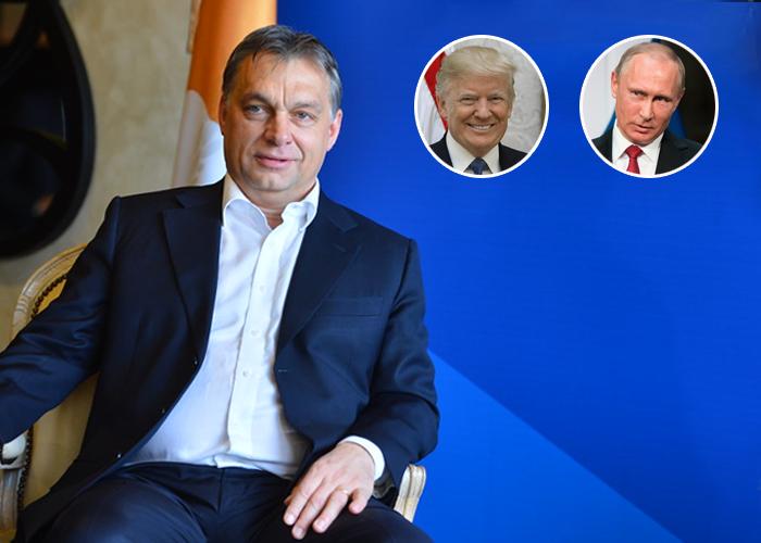 Entre Putin y Trump, así se encuentra Viktor Orbán, el primer ministro de Hungría