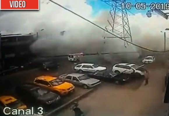 [VIDEO] Así fue la explosión que acabó con la vida de 4 personas en Bogotá