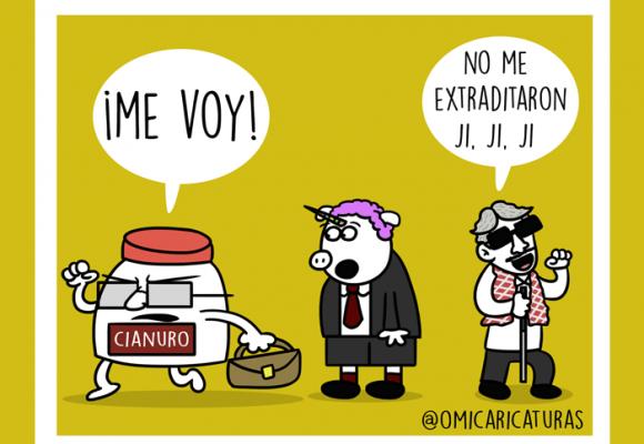 Caricatura: Revolcón en Colombia