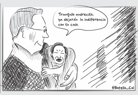 Caricatura: ¿Otra oportunidad para Uribito?