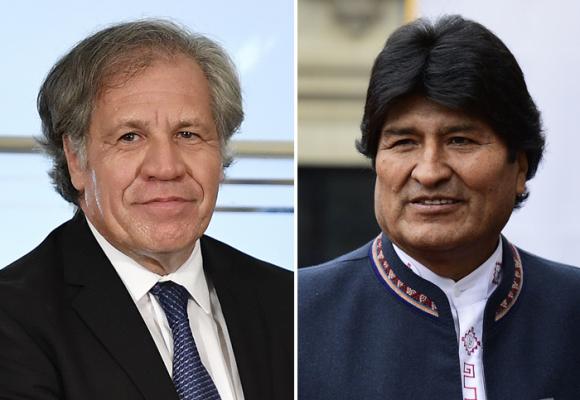 ¿Por qué Almagro ahora apoya a Evo Morales?