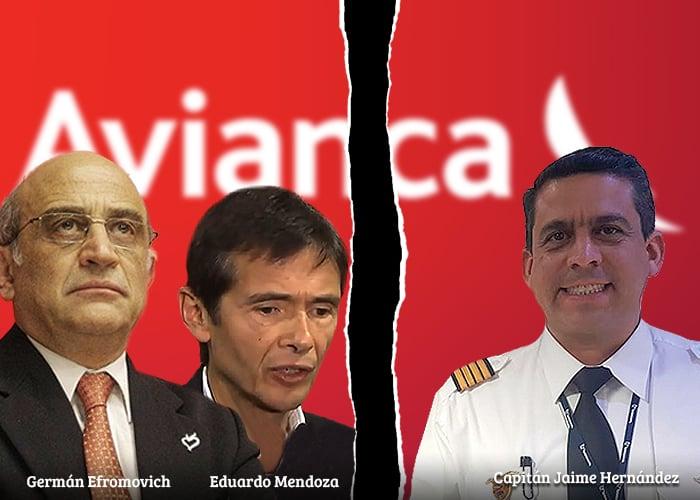 El nuevo lío de Eduardo Mendoza, acusado ahora por las chuzadas a los pilotos de Avianca