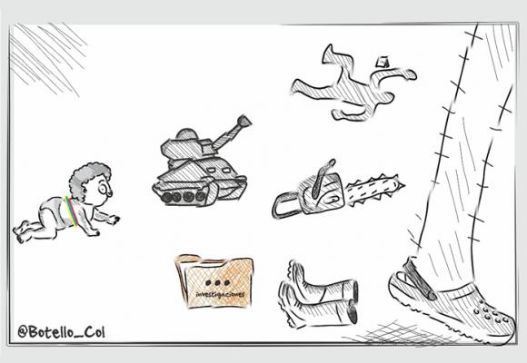 Caricatura: Siguiendo el legado