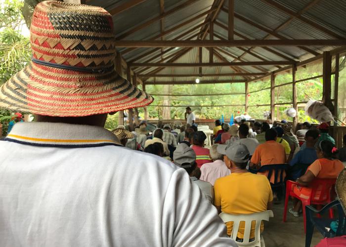 La persistente lucha de la comunidad de El Garzal por el derecho a la tierra