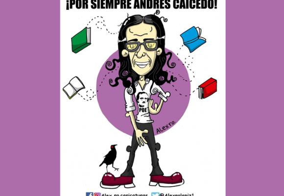 Caricatura: A Andrés Caicedo, el hombre del genial legado