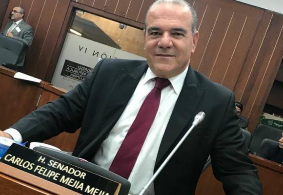 Carlos Felipe Mejía, la nueva vergüenza del Centro Democrático