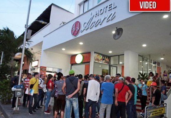 [VIDEO] Juan Guaidó le falló a los militares venezolanos refugiados en Cúcuta