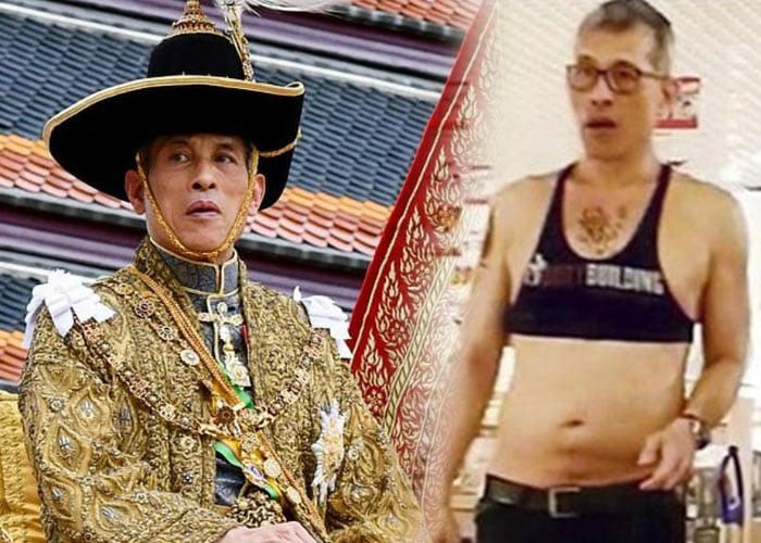 El nuevo rey sadomasoquista de Tailandia